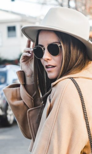 THE ONE COAT YOU NEED, BECAUSE IT GOES WITH EVERYTHING