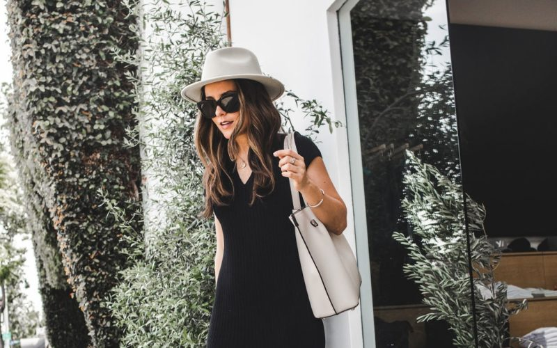 HOW TO WEAR BLACK FOR SPRING
