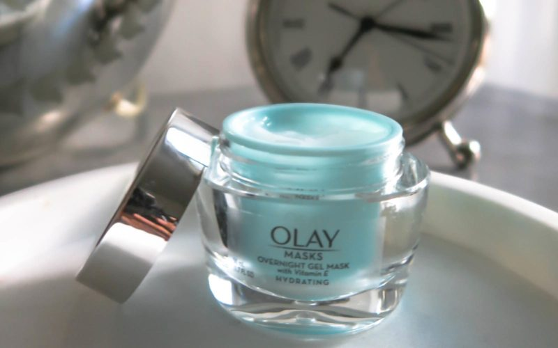 PREPPING MY SKIN FOR WINTER WITH OLAY'S NEW HYDRATING OVERNIGHT MASK